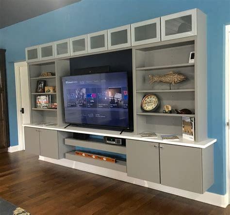Floating Entertainment Center   Modern   Living Room
