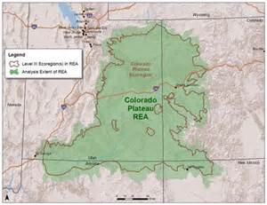 map of colorado plateau colorado plateau