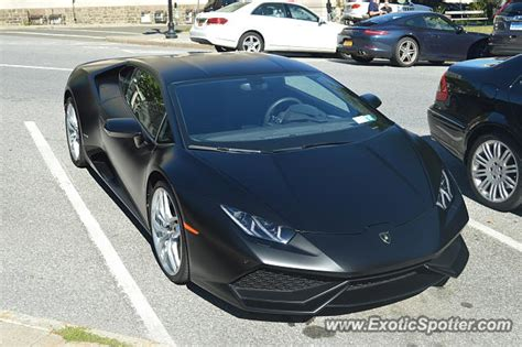 Lamborghini Greenwich Lamborghini Huracan Spotted In Greenwich Connecticut On