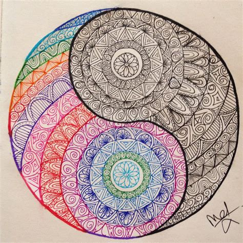doodle yang yin yang doodle by madebymelw on deviantart