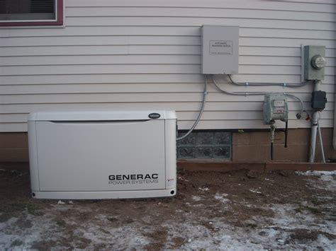 generac whole house generator automatic transfer whole house generator hartland electric a michigan electrician
