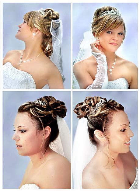 Brautfrisuren Mittellanges Haar by Brautfrisuren Mittellanges Haar Mit Diadem
