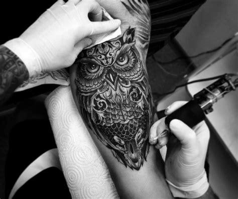 best owl tattoo design 47 best owl tattoos of all time tattooblend