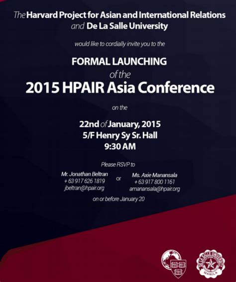 Return To Asia Pacific Mba Summit by Harvard S Largest Student Conference In Asia Pacific