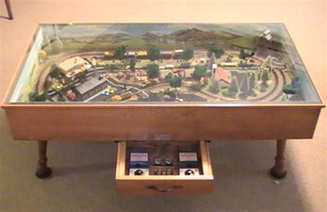 Ryobi Nation Projects Coffee Table Model Railroad