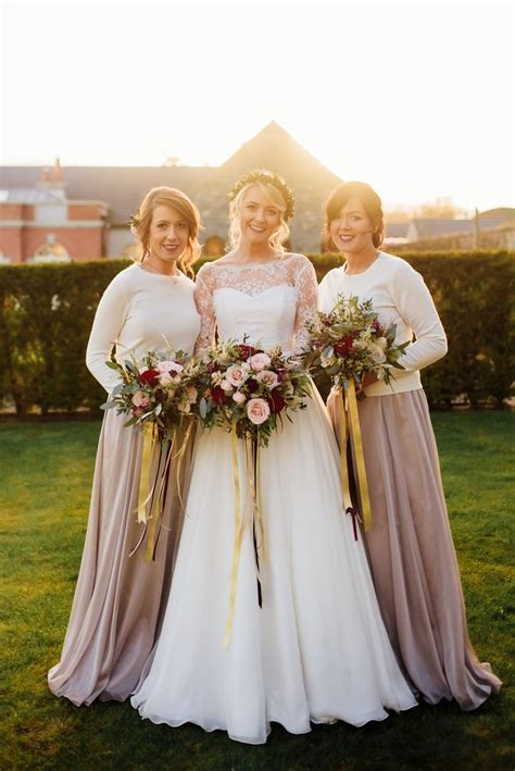 Best 25  Winter bridesmaid dresses ideas on Pinterest