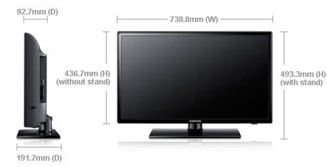 Tv Lcd Ukuran 32 led seri 4 32 quot ua32eh4000m samsung indonesia