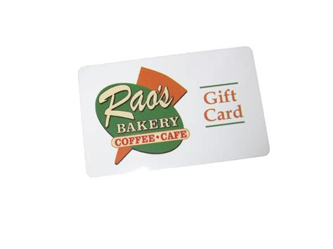 Free Gift Cards In The Mail - gift cards rao s bakery