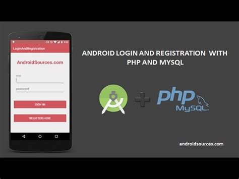 Android With Php by Android Login And Registration With Php And Mysql Tutorial