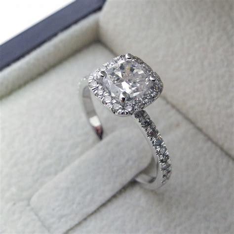 cushion cut diamond cushion cut diamond engagement ring