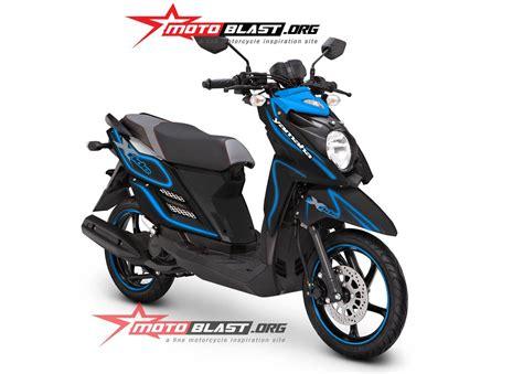 modif striping yamaha x ride laser motoblast