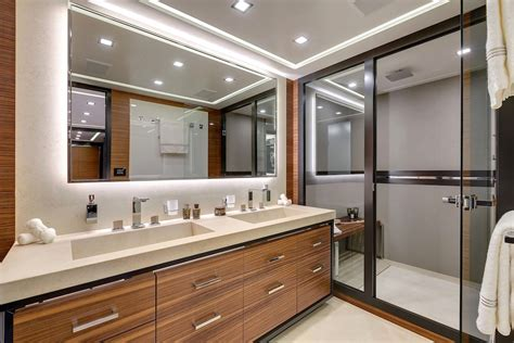 Motor Yacht Mangusta 132 Bathroom Yacht Charter Charter Bathroom