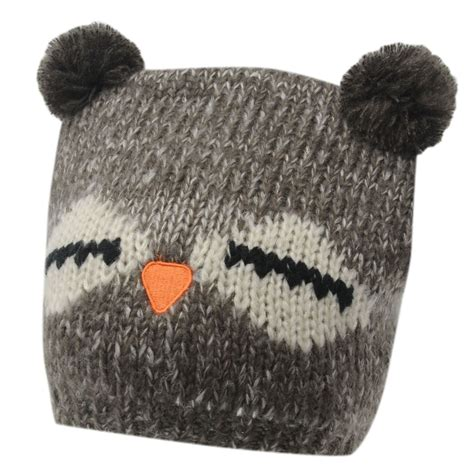 la gear womens owl winter hats beanie cap headwear