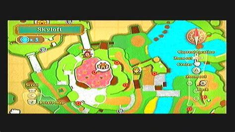 legend of zelda skyloft map skyward sword heart piece guide