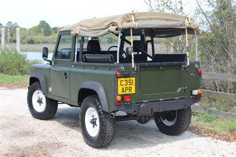 land rover defender 90 diesel 1986 land rover defender 90 diesel for sale