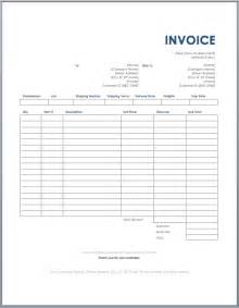 Trucking Invoice Template Free by Freight Invoice Template Ms Word Free Invoice Templates