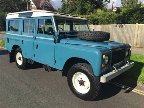 land rover series 3 109 for sale for sale land rover series 3 109 stage 1 v8 sw 1982