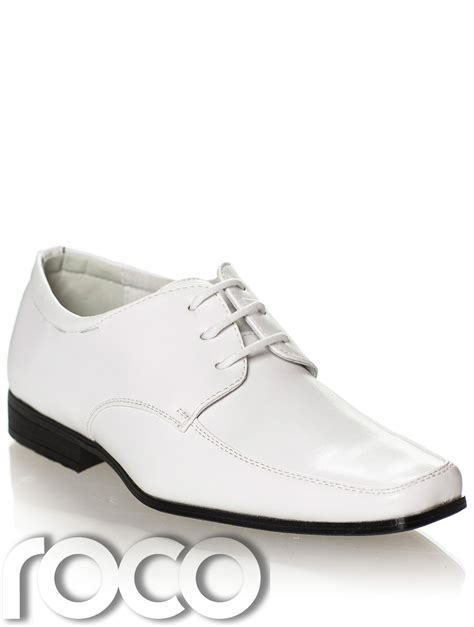 Wedding Shoes White by Boys White Shoes Prom Shoes Page Boys Shoes Formal