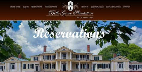 plantation bed and breakfast belle grove plantation bed and breakfast birthplace of