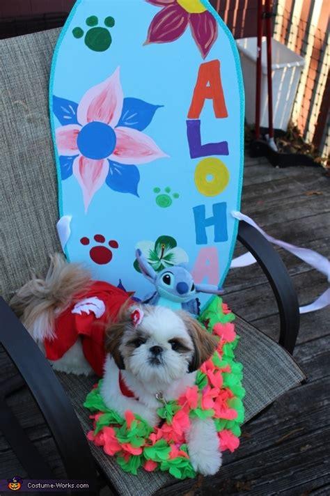 lilo  stitch dog costume