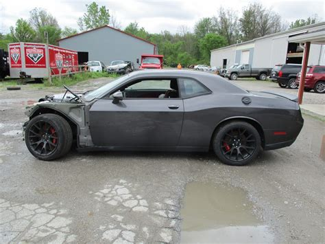 Dodge Challenger Hellcat For Sale by Seriously Trashed Dodge Challenger Hellcat Shows Up For
