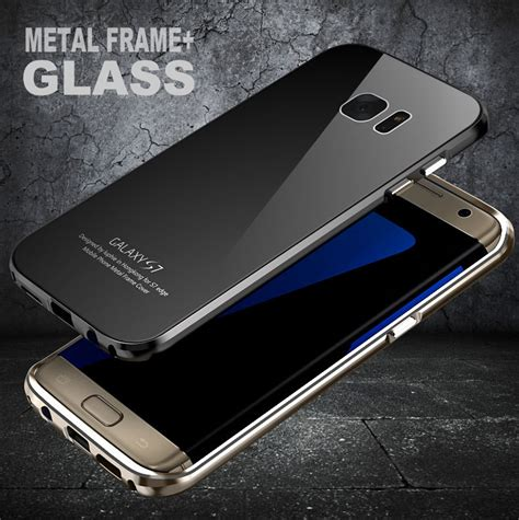 Tempered Glass Kingkong Samsung Galaxy S7 Flat Antigores Screen Guard luphie ultra thin aluminum metal frame tempered glass back cover for samsung galaxy s7 s7