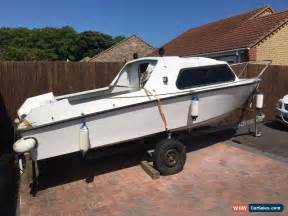 used boat engines for sale ebay uk 16ft cabin boat with trailer and outboard engine for sale