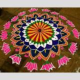 Rangoli Designs With Flowers And Colours   297 x 240 jpeg 31kB
