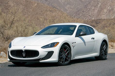 maserati coupe white 2012 maserati granturismo mc and granturismo convertible