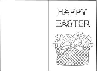 easter card templates to colour 32 free printable easter cards baby