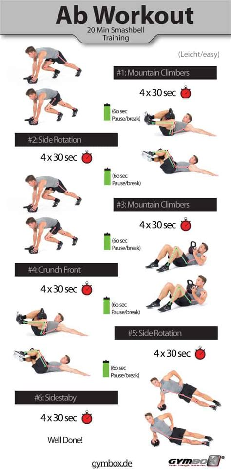kettlebell ab workouts exercises  flat stomach