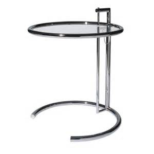adjustable table eileen gray bauhaus italy