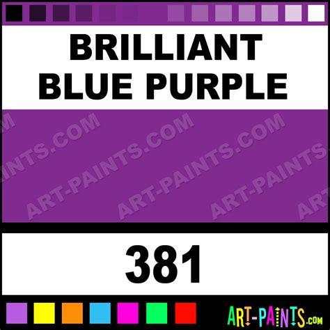 brilliant blue purple artist acrylic paints 381 brilliant blue purple paint brilliant blue