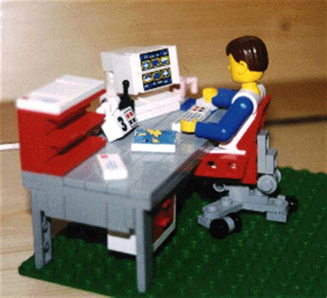 The Office Lego by Office