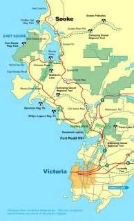 Victoria Canada Map by Victoria Map