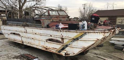 duck boat exhaust hibious class 1945 gmc dukw