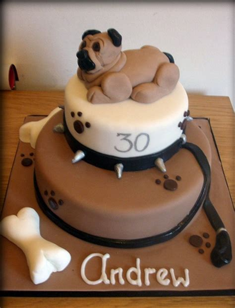 birthday cake pug pug birthday cake in brown png