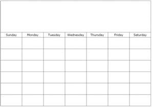Calendar Template To Type In by Monthly Calendar To Print And Fill Out Calendar