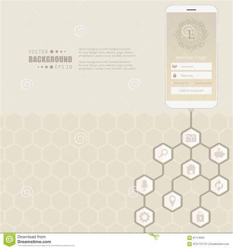 design concept hexagon abstract creative concept vector hexagon network with icon