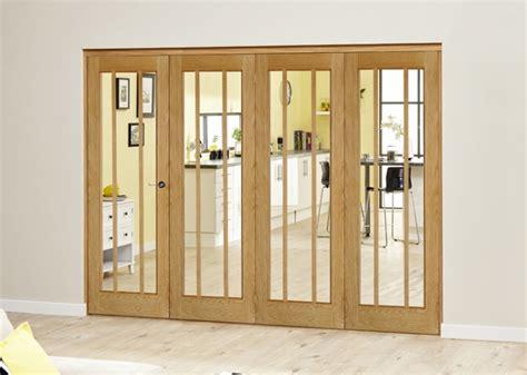 French Doors Screens - 2820 x 2078mm lincoln oak 4 door roomfold deluxe 4 x 686mm doors bifold doors