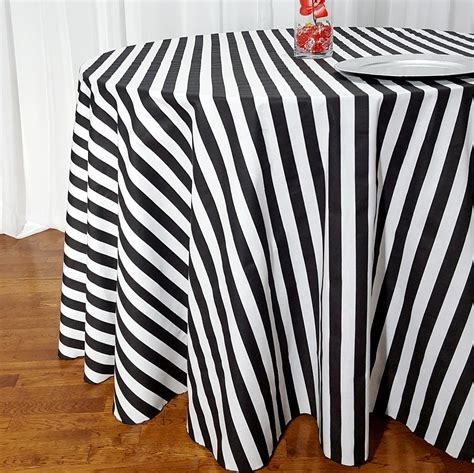 black white table cloth black and white striped table cloth answerplane com