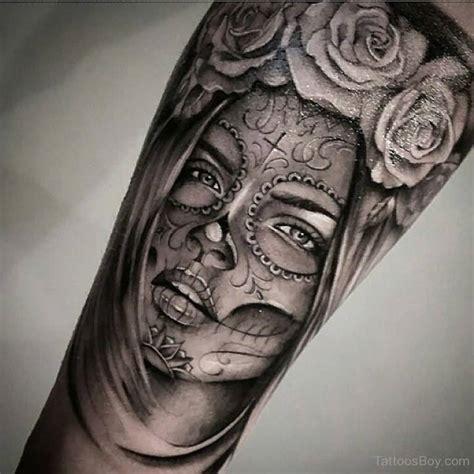 la muerte tattoo awesome flower wonderful and