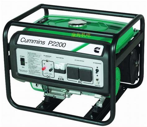 china cummins portable home use gasoline generator 2kw
