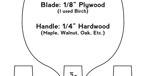 ping pong paddle template pdf drive