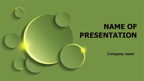 Download Free Green Circles Powerpoint Template For Presentation Powerpoint Templates For