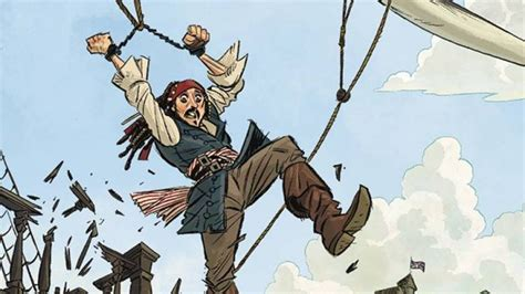 PIRATES OF THE CARIBBEAN Is Getting a Comic Book Series