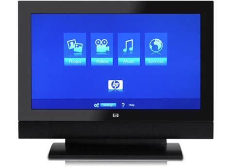Tv Hp hp mediasmart 37 inch lcd media center tv techcrunch