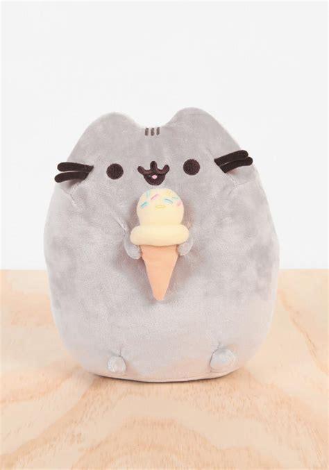 pusheen  ice cream plush newbury comics