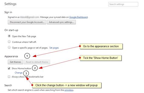 set your homepage on chrome browser set any page as your