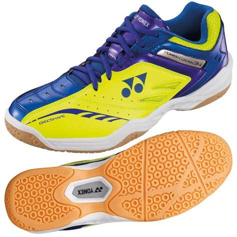 Yonex Power Cushion 34 Badminton Blue Original yonex power cushion 34 mens badminton shoes sweatband